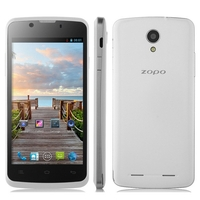 ZOPO ZP590 Quad Core 3G Smartphone MTK6582M 4.5 Inch IPS Screen 512MB+4GB Android 4.4 5.0MP Camera GPS - White