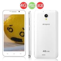ZOPO ZP320 Quad Core 4G FDD-LTE Smartphone MTK6582M 5.0 Inch QHD Screen 1GB+8GB 8.0MP Camera Android 4.4 - White