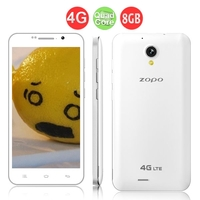 ZOPO ZP320 Quad Core 4G FDD-LTE Smartphone MTK6582M 5.0 Inch QHD Screen 1GB+8GB 8.0MP Camera Android 4.4 - White