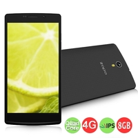 ZOPO ZP520 Quad Core 4G FDD-LTE Smartphone MTK6582M 5.5 Inch IPS Screen 1GB+8GB 8.0MP Camera Android 4.4 - Black