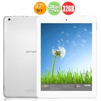 ONDA V975 Quad Core Tablet PC w/ Allwinner A31 9.7 Inch Retina Screen 1GB+32GB HDMI WiFi - White + Silver