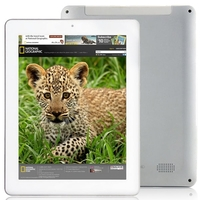 ONDA V801S Quad Core Tablet PC w/ Allwinner A31s 8.0 Inch 1GB+8GB HDMI OTG WiFi - White + Silver