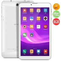 ONDA V719 3G Quad Core Phone Tablet PC w/ MTK8382 7.0 Inch 1GB+8GB Dual SIM GPS - White