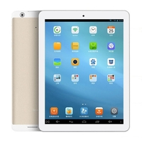 Teclast X98 3G Quad Core Phone Tablet PC Intel Z3735D 9.7 Inch IPS Retina Screen 2GB+32GB GPS OTG - White + Golden