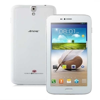 Ampe A62 Quad Core 3G Phone Tablet PC w/ MTK8382 6.2 Inch IPS Screen 512MB+8GB Dual SIM 5.0MP Camera GPS - White