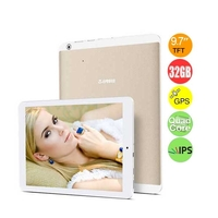 Teclast P98 3G Quad Core Phone Tablet PC MTK8135 9.7 Inch IPS Screen 2GB+32GB 13MP Camera GPS - White + Golden