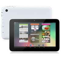 PIPO U3T Quad Core 3G Phone Tablet PC w/ RK3188 7.0 Inch IPS Screen 1GB+16GB Android 4.2 HDMI GPS - Black + White
