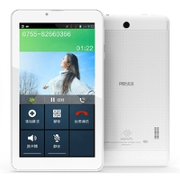 Ployer MOMO9 3G Quad Core Tablet PC w/ MTK8382 7.0 Inch IPS Screen 1GB+8GB Dual SIM GPS OTG - White