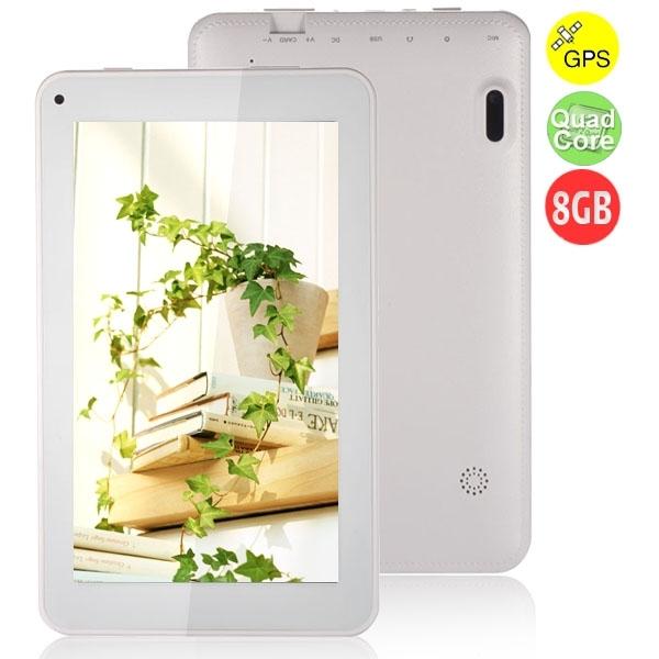 ICOO D70GT Quad Core Tablet PC w/ RK3188 7 0 Inch 512MB+8GB