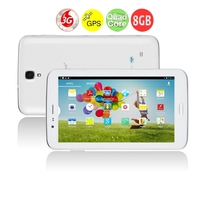 SANEI G706 Quad Core 3G Phone Tablet PC MTK8382 7.0 Inch IPS Screen 1GB+8GB Dual SIM 8MP Camera GPS - White