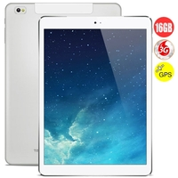 Cube Talk 9X U65GT Octa Core 3G Phone Tablet PC MTK8392 9.7 Inch Retina Screen 2GB+16GB GPS - White/Black