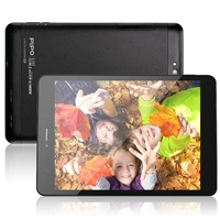 PIPO U8T Quad Core 3G Phone Tablet PC w/ RK3188 7.85 Inch IPS Screen 2GB+16GB Android 4.2 GPS OTG - Black