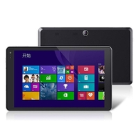 Cube U80GT iWork 8 Quad Core Tablet PC w/ Intel Z3735E 8.0 Inch IPS Screen 1GB+16GB Win8 OS GPS - Black