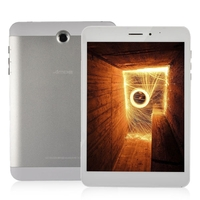 Ampe A83 2G Dual Core Phone Tablet PC w/ Allwinner A23 7.85 Inch 512MB+8GB Dual SIM - White + Silver
