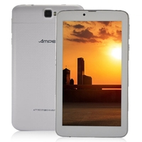 Ampe A77 Dual Core 2G Phone Tablet PC w/ MTK6572 7.0 Inch 512MB+4GB Dual SIM GPS Bluetooth - White