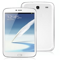 Freelander PX4 Dual Core 3G Phone Tablet PC w/ MTK8312 7.85 Inch 512MB+8GB Dual SIM GPS - White