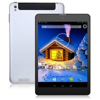 Freelander PX3 Quad Core 3G Phone Tablet PC MTK8382 7.85 Inch IPS Screen 1GB+16GB Dual SIM GPS - Black + Silver
