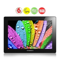 LENOVO S6000 3G Quad Core Phone Tablet PC w/ MTK8125 10.1 Inch IPS Screen 1GB+16GB GPS HDMI - Black