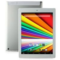 CHUWI V99i Quad Core Tablet PC w/ Intel Z3735D 9.7 Inch Retina IPS Screen 2GB+16GB GPS WiFi - White + Silver