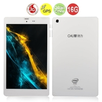 CHUWI VX8 Quad Core 3G Phone Tablet PC w/ Intel Z3735G 8.0 Inch IPS OGS Screen 1GB+16GB 5.0MP Camera GPS - White