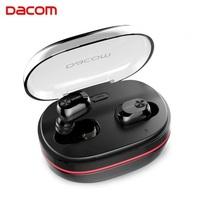 Беспроводные наушники Dacom K6H Pro - 72 часа автономности с поддержкой Bluetooth v5+EDR