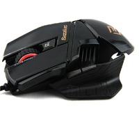 BAZALIAS X1 Specialty Mouse 6 key Light corded Gaming Mouse Optical Mouse
