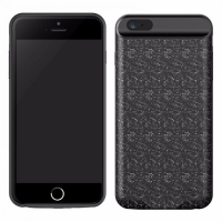 Battery Case Baseus - Plaid Backpack 2500 / 3560mAh Black for iPhone 6 / 6S / 6Plus