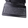 """7"""" Ultra-Slim Russian Keyboard with PU Leather Case for Tablet - Black"""