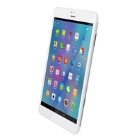 ONDA V819 Quad Core 2G/3G Phone Tablet PC w/ MTK8389 1.2GHz 7.9inch IPS Screen 1GB+16GB Bluetooth GPS WiFi FM - White + Silver