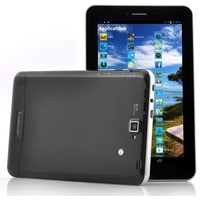 Freelander PX2C Quad Core 3G Phone Tablet PC MTK8382 7 Inch IPS Screen 1GB+8GB Dual SIM GPS HDMI OTG - Bla