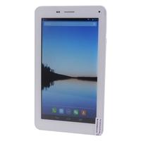 ONDA V719 3G Phone Tablet PC w/ MTK8312 Dual Core 7inch 512MB+8GB Dual SIM Bluetooth WiFi GPS FM OTG - White + Silver