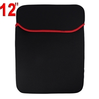 Protective Soft Cloth Case for 12 inch Laptop (Black)