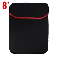 Protective Soft Cloth Case for 8 inch Laptop (Black)