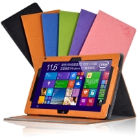 PU leather case protector for CUBE I7 remix tablet PC, 11.6inch with GIFT