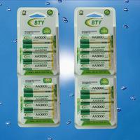 1.2v AAA 1350mAh/ AA 3000mAh NiMH Ni-MH Rechargeable Battery