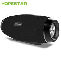 Портативная колонка Hopestar H27 - Беспроводная стереосистема Bluetooth мощность 10 Вт батарея 2400 мА