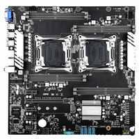 Материнская плата JINGSHA X99 Dual LGA2011v3/v4 - ATX USB3.0 SATA3 PCI-E NVME M.2 SSD DDR4