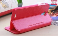 Flip leather PU case cover for LENOVO S820