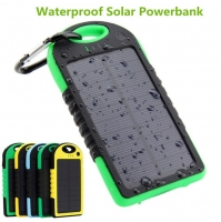 Waterproof Power Bank 5000mAh Solar