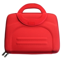 "Red Hard Handbag Carrying Case For 10.2"" Notebook Laptop"