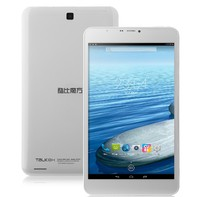 CUBE TALK 8H Tablet PC MTK8382 Quad Core 8.0 Inch Android 4.4 P+G IPS Screen 8GB White