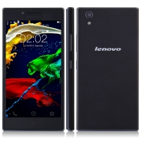 Lenovo P70-t Smartphone 64bit MTK6732 2GB 16GB 5.0 Inch HD Screen 4000mAh Battery Black