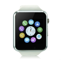 iCou I6 Smart Watch Phone 1.54 Inch Touch Screen Bluetooth Camera FM White/Black/Green