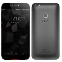"UMI IRON Pro Fingerprint Eyeprint ID 3GB 16GB 5.5"" FHD MTK6753 Octa Core Black/White"