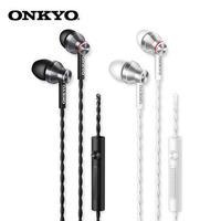 Наушники Onkyo E300M - плетеный кабель, микрофон, HiFi звучание