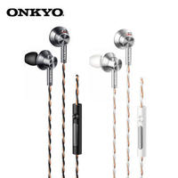 Original ONKYO E700M - In Ear Hi-Res Earphone Canal Type Hi-Res with Mic NO BOX Hifi earphones with mic for smartphones