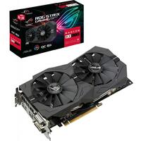 Видеокарта Б/У ASUS ROG STRIX RX570 - 4GB GDDR5 256bit PCI-E 3.0 Video Graphics Card DVI + HDMI + DP